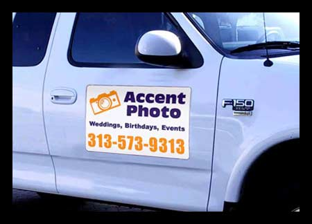 Magnetic Signs Car Magnets Truck Van MagneticSignsOntimecom - Custom car magnet advertisingcar door magnet advertising business magnets for cars car