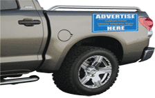 Tailgate and Truck magnetic signs